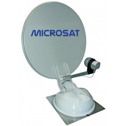 ASTERIA 65 - MICROSAT ANTENNE SATELLITE PARABOLE 65CM - 100% AUTOMATIQUE