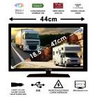 "MOBILVISION TELEVISEUR  CAMPING CAR 18,5"" 47cm - TVWS19"