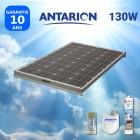 KIT PANNEAU SOLAIRE CAMPING CAR 130W ANTARION SANS REGULATEUR - PAN130WSANSREG
