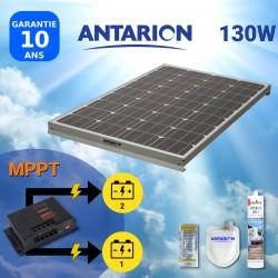 PAN120W2BAT - PANNEAU SOLAIRE 120W ANTARION - DOUBLE BATTERIE