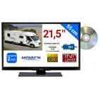 "COMBINÉ TV/DVD CAMPING CAR LED 21,5"" 55cm 12V SATELLITE (SANS LA CARTE FRANSAT) FULLHD ANTARION - TVLT22DVDSAT"