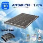 KIT PANNEAU SOLAIRE 170W ANTARION CAMPING CAR AVEC RÉGULATEUR MPPT - PAN170WMPPT