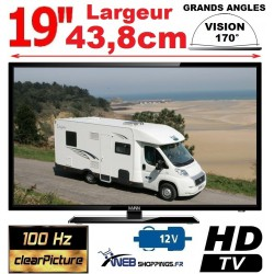 tv 12v camping car antenne tnthd camion bateau fourgon web shoppings. Black Bedroom Furniture Sets. Home Design Ideas
