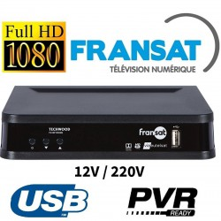 TK30 - DEMODULATEUR SATELLITE FRANSAT HD CAMPING CAR 12V
