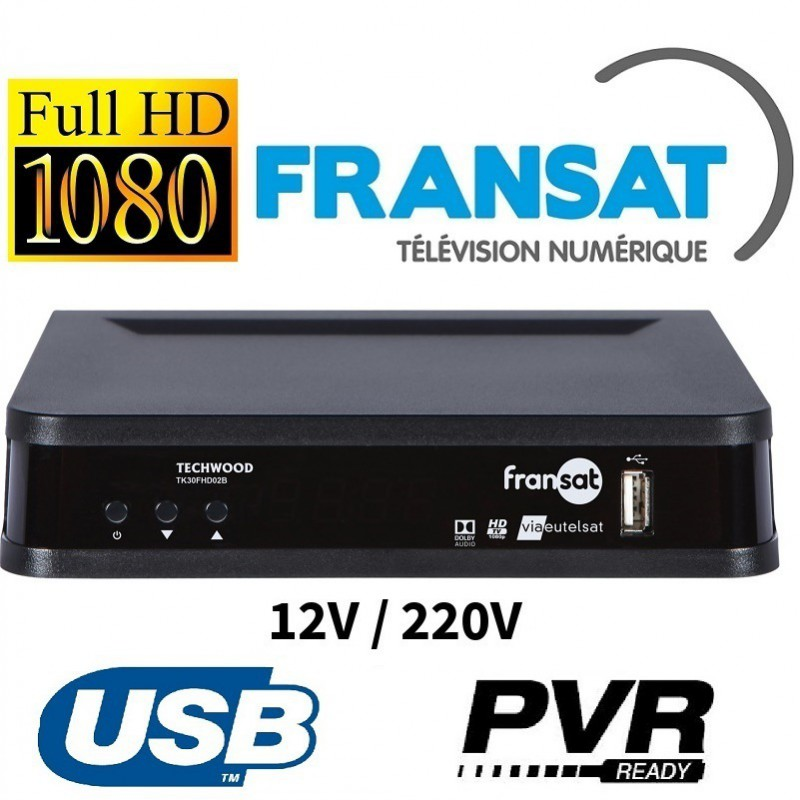 TK30 - DEMODULATEUR SATELLITE FRANSAT HD CAMPING CAR 12V - WEB ...