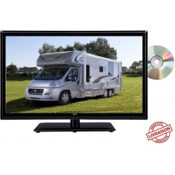 "ATVDVD22HD - COMBINÉ TV/DVD LED 22"" 55cm HD 24V 12V ANTARION"