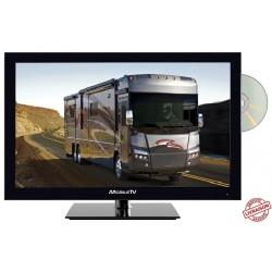 "MTV24DVD - COMBINÉ TV DVD TNTHD LED 24"" 60cm 12V"
