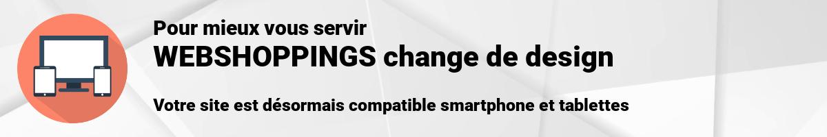 Site compatible smartphone et tablettes