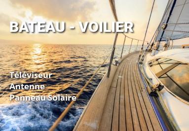 TV 12V voilier bateau accessoires