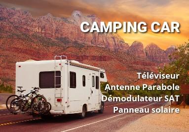 TV 12V camping car accessoires antenne